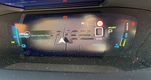 EKSTRAUTSYR: Tredimensjonal skjerm med GPS, plassert bak rattet. Foto: Øystein B. Fossum
