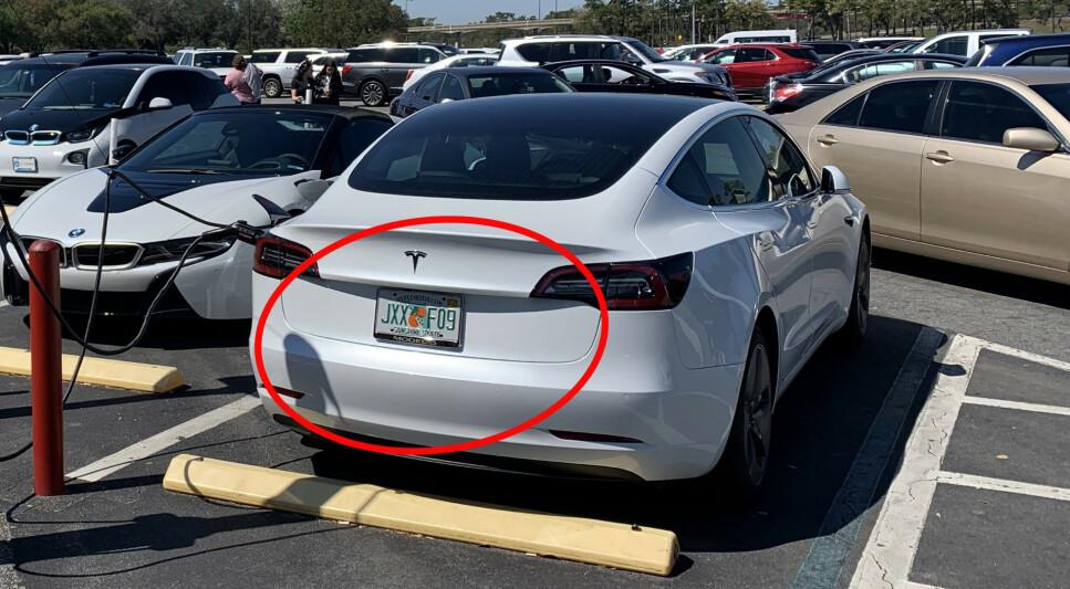 I USA: Slik kan amerikanske bilskilter se ut. Nå kan de straks skaffes til amerikanske biler i Norge også. Foto: Bjørn Eirik Loftås