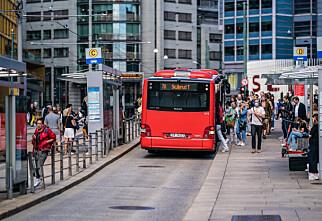 Sju av ti unngår kollektivtransport hvis de kan
