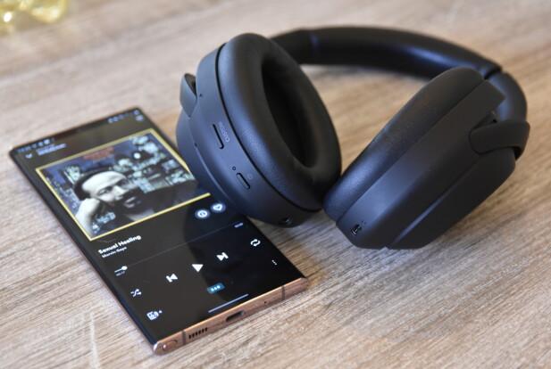 360-LYD: Via Sonys 360 reality audio posisjoneres de ulike lydkildene rundt i rommet. Foto: Pål Joakim Pollen