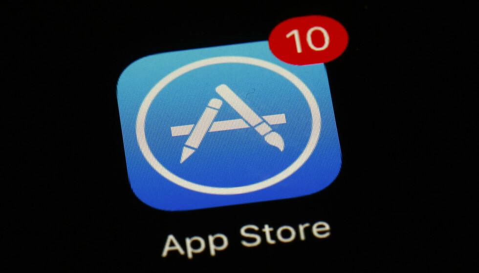 APP STORE: Flere utviklere uttrykker misnøye over hvordan Apple styrer App Store på iPhone og iPad. Foto: NTB Scanpix/AP Photo/Patrick Semansky