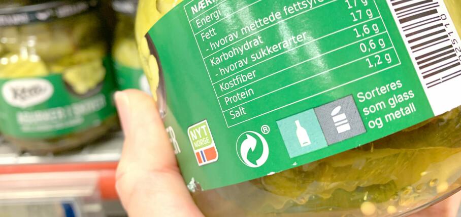 LETTERE Å FORSTÅ: Nye merker for kildesortering skal gjøre det lettere å forstå hvor avfallet skal kastes. De samme merkene vil også komme på avfallsbøttene - både hjemme hos deg og i det offentlige rom. Foto: Kristin Sørdal