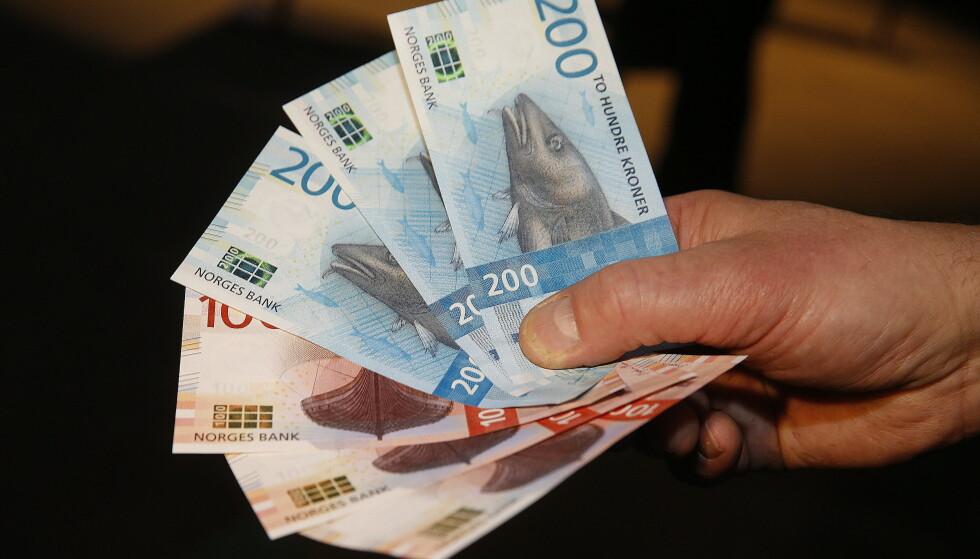 STØTTEØKNING: Fra 1. september får du 300 kroner mer i barnetrygd hver måned. Foto: Terje Pedersen/NTB Scanpix.