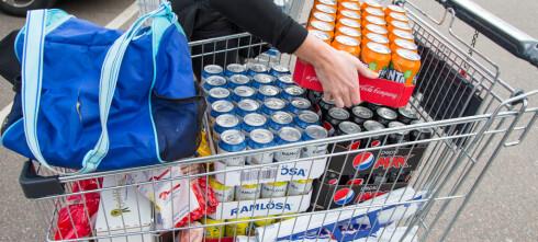 Sukkerinnholdet i brus er annerledes i Sverige