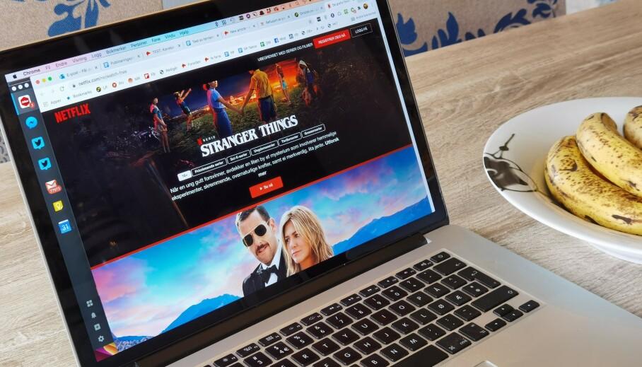 SE UTEN Å BETALE: Nå kan du se noe av Netflix' mest populære innhold gratis. Foto: Pål Joakim Pollen