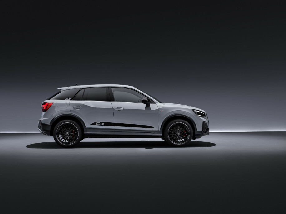 FREKKERE: Det er detaljer som skal gjøre Q2 kulere. Foto: Audi