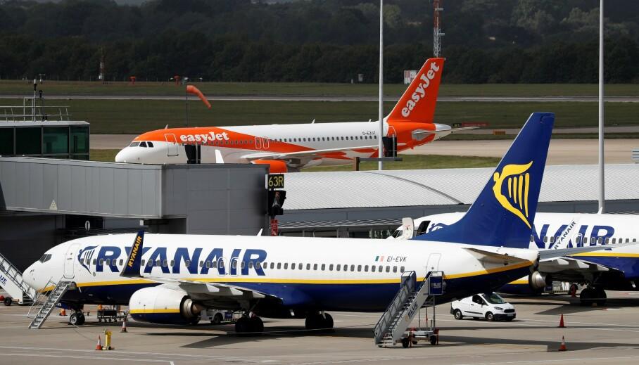 49 KRONER BILLETTEN: Ryanair vil fly deg utenlands for 49 kroner billetten. Men dersom Italia blir rødt i dag, er alle destinasjonene på reisekartet deres fra Norge, røde. Foto: NTB scanpix