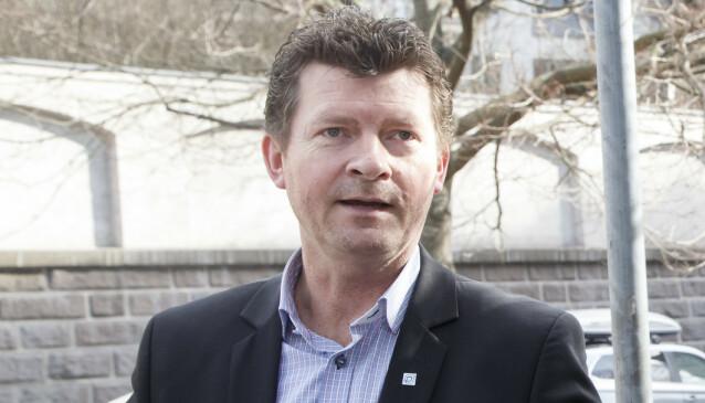 – IKKE LOV: Lars Monsen, daglig leder i Norpark, forteller at parkeringsselskapene opplever en del kreative forsøk på å omgå reglene. Foto: NTB Scanpix