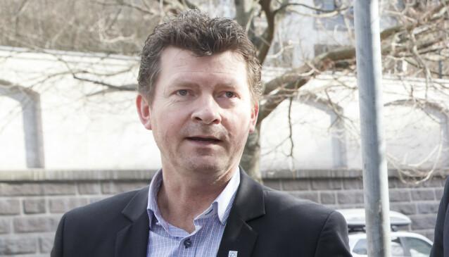 <strong>ADVARER:</strong> Daglig leder Lars Monsen i Norpark (Norges Parkeringsforening) advarer mot å parkere feil på handikapplass. Foto: Heiko Junge / NTB