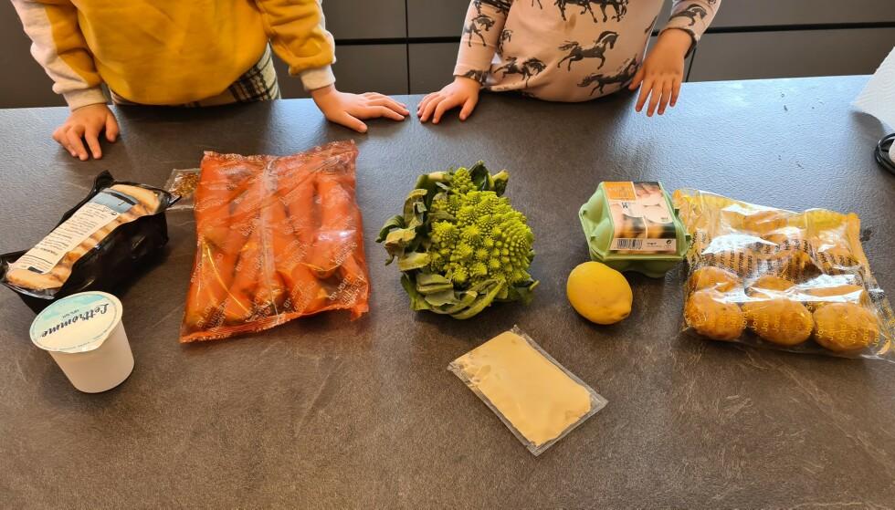 GODE SMAKER: Små og store hverdagskokker satte pris på enkle oppskrifter og sunne, varierte middager.