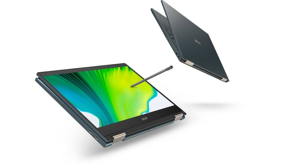Acer Spin 7 er den første PC-en med Snapdragon 8cx Gen 2. Foto: Acer