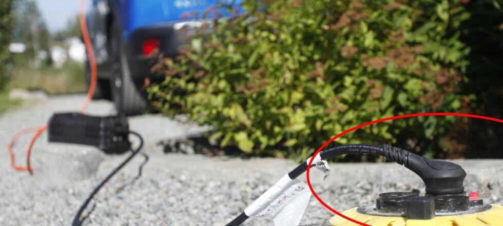 Farlig elbiltabbe