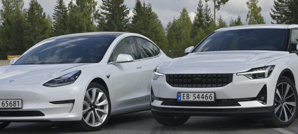 Duell: Polestar mer genial enn Tesla?