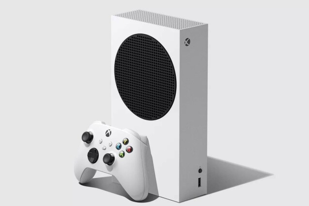 Dette er Xbox Series S. Foto: Microsoft