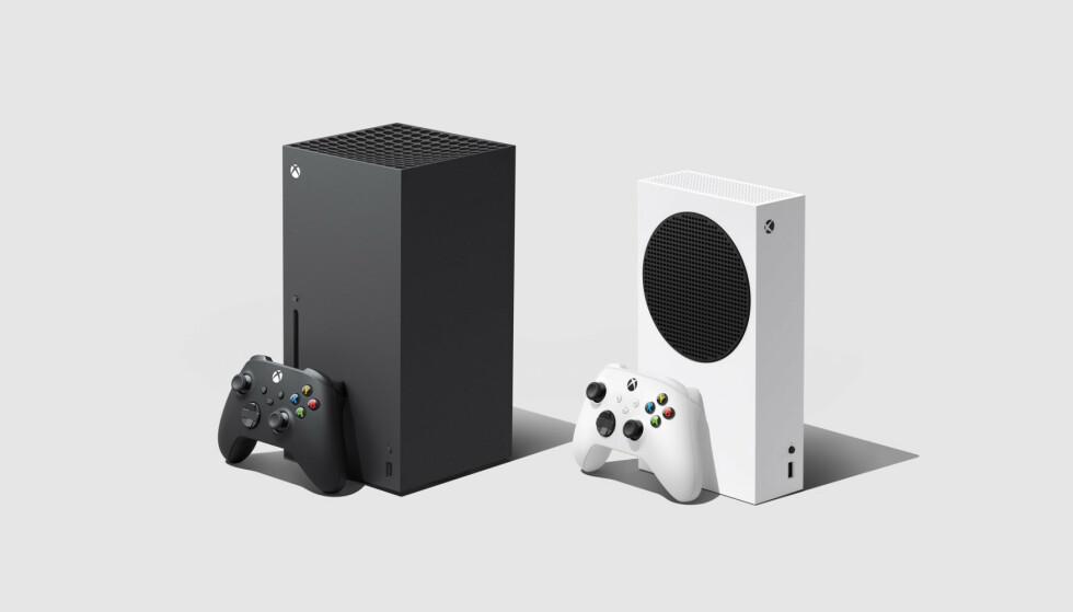 XBOX: Både Xbox Series X og Xbox Series S kommer til Norge i høst. Foto: Microsoft
