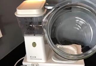 Slik blir kaffetrakteren ren på et blunk