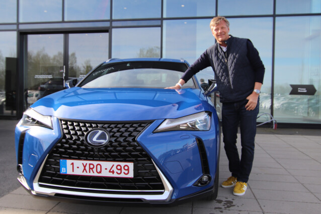 BEST TOTALT: For niende året på rad var Lexus og Lexus-sjef Knut-Erik Jahnsen favoritten til de 11.000 norske bileierne som deltok i undersøkelsen. Foto: Lexus