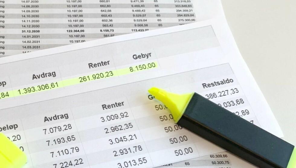 <strong>BOLIGLÅN:</strong> Norges Bank ønsker ikke å følge Finanstilsynets forslag til endring av boliglånsforskriften. Foto: Eilin Lindvoll