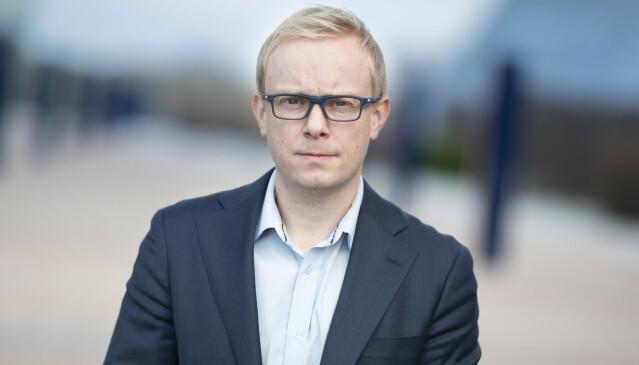Informasjonssjef i Telenor, Magnus Line, har selv opplevd å bli ringt opp av «eksotiske» telefonnumre den siste tiden. Foto: Martin Fjellanger