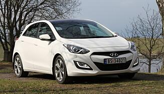 Hyundai i20. Foto: Rune Korsvoll