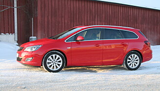 Opel Astra. Foto: Rune Korsvoll