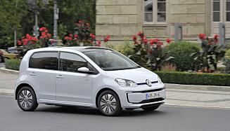 VW e-UP. Foto: VW