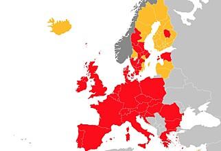 Europa er blodrødt