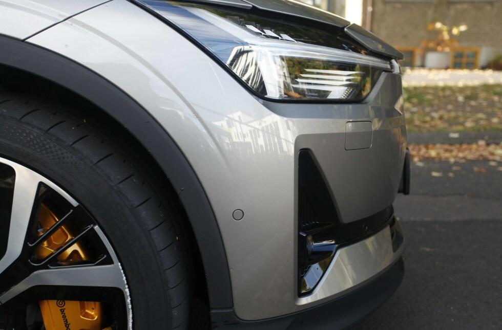 <strong>POLESTAR 2:</strong> Den nye svensk-kinesiske elbilen ser godt ut. Foto: Øystein B. Fossum