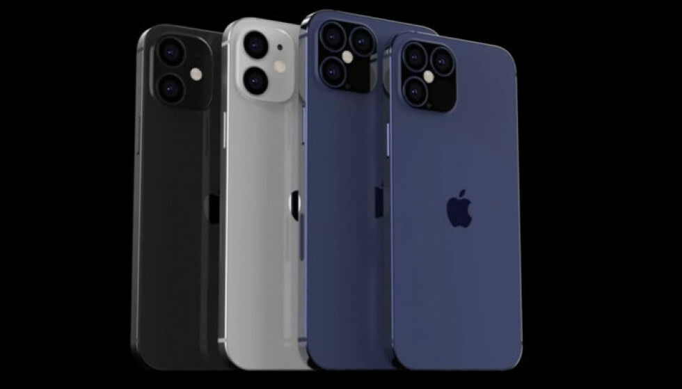 IPHONE: Det kan komme hele fire iPhoner i høst. Blant annet enn «iPhone mini». Foto: Skjermdump/YouTube