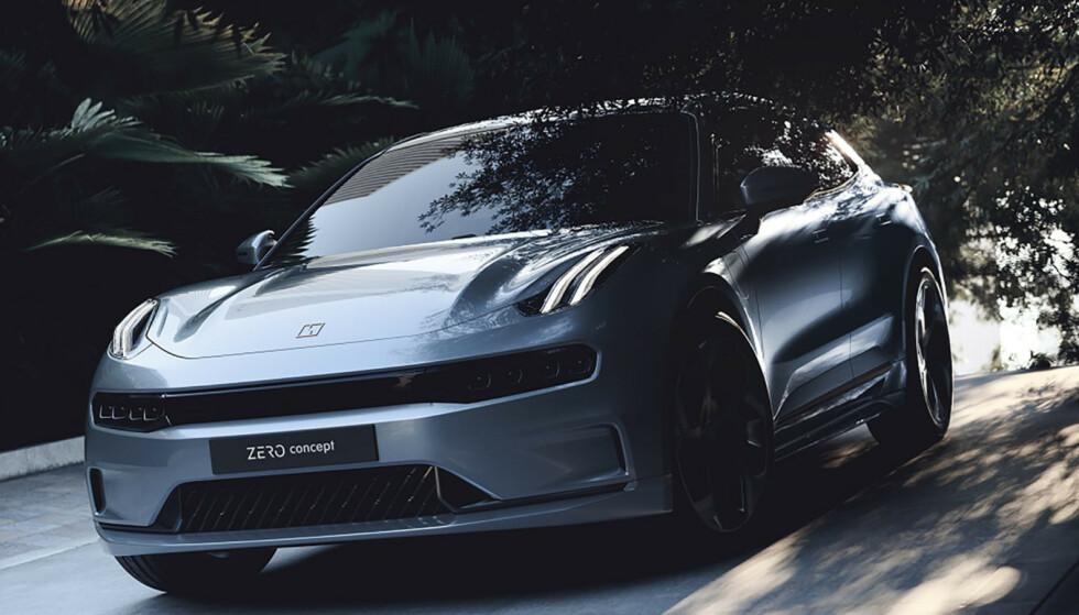 <strong>EGEN SIGNATUR:</strong> To etasjer med kjørelys, litt a la Citroën, kjennetegner alle Lynk &amp; Co sine modeller. Foto: Lynk &amp; co