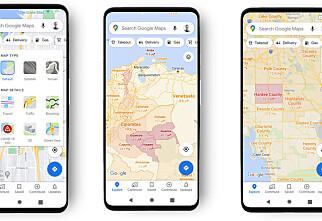 Google Maps med corona-oppdatering