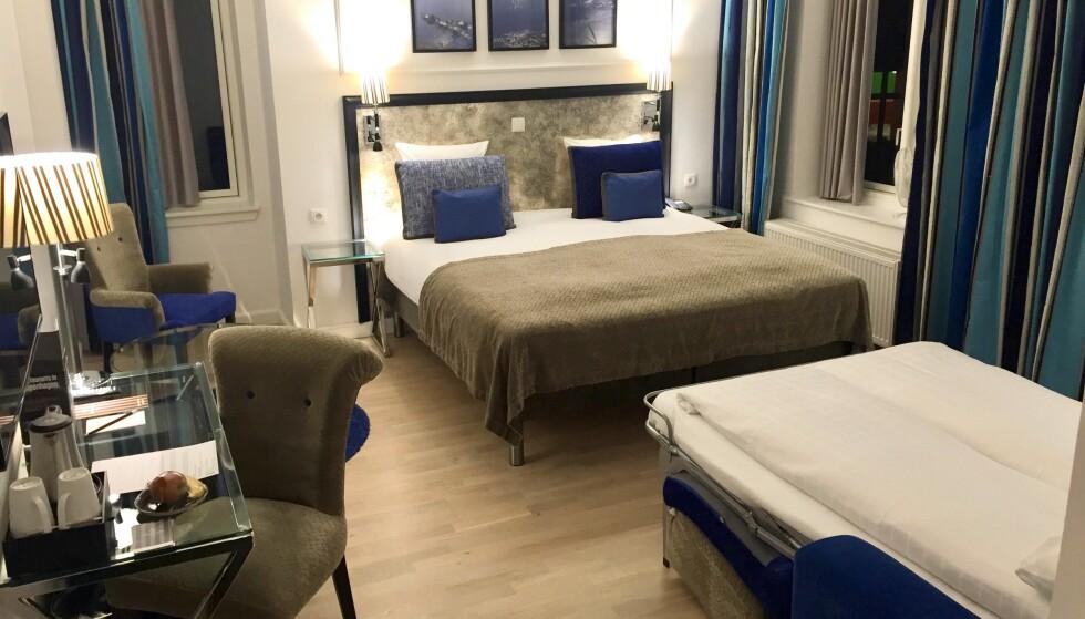 <strong>Familierom:</strong> Ringer du hotellet direkte så er det lettere å forhandle frem en god pris og stort rom for hele familien. Foto: Odd Roar Lange