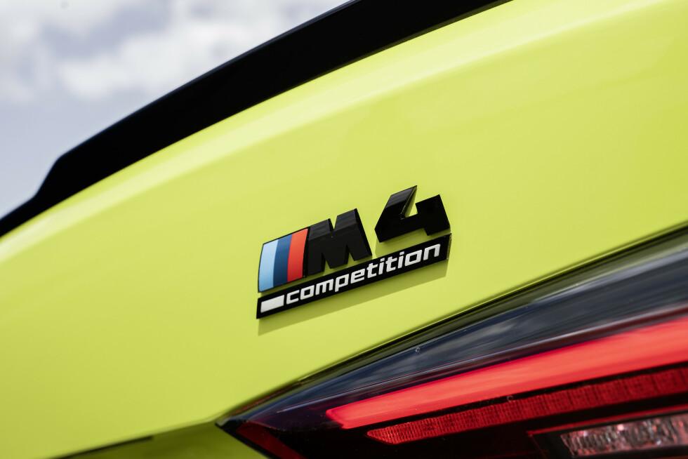 <strong>COMPETITION:</strong> Blir tilgjengelig både som bakhjulstrekker og firehjulstrekker. Med bakhjulstrekk kan du velge både manuell og automat. Foto: BMW