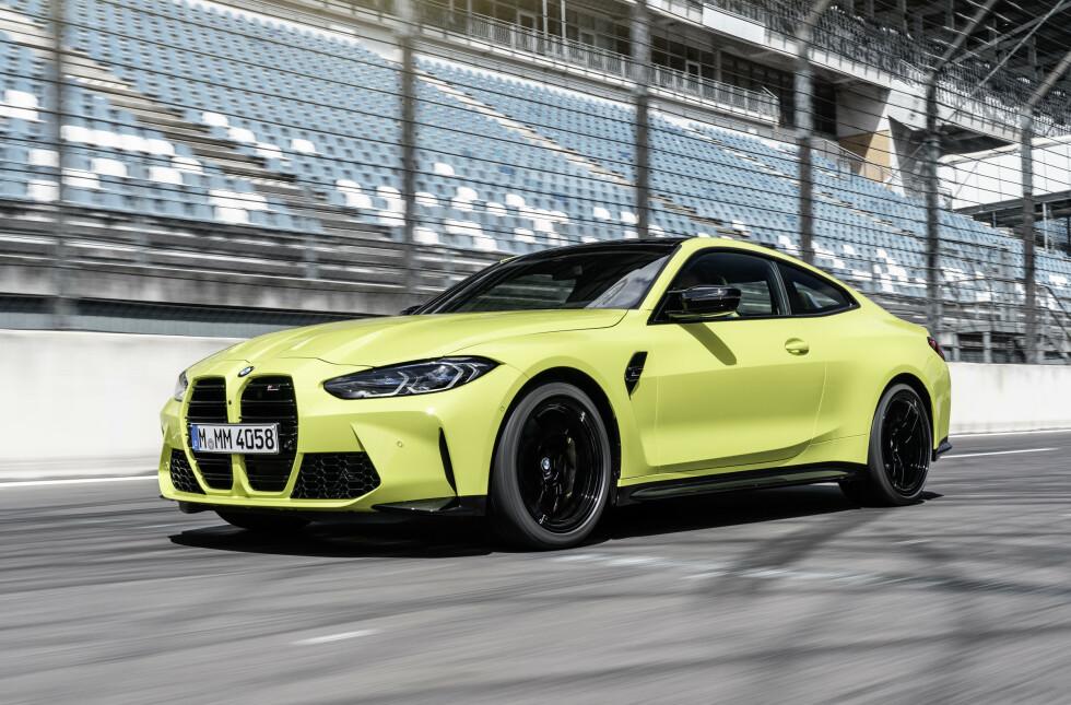 <strong>M4:</strong> Først ut er Coupé. Senere kommer også en cabriolet. Foto: BMW