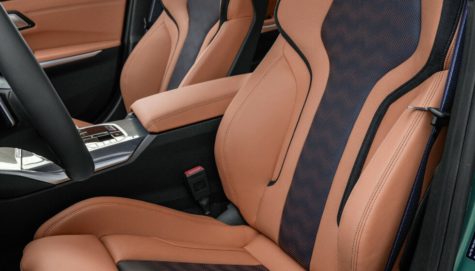 <strong>FLERE VALG:</strong> Du kan så og si skreddery din M3 innvendig. Foto BMW