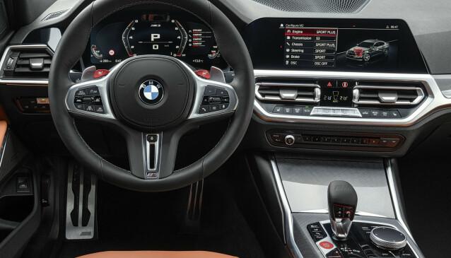 <strong>SAME BUT DIFFERENT:</strong> Skjermene har fått egen M-design. Foto: BMW