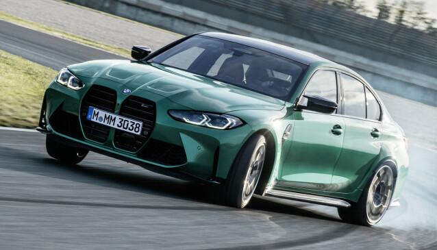 <strong>LEKENT:</strong> Det skal fortsatt være mulig å ha det gøy i M3 og sikkerhetssystemene gjør det enklere enn noensinne. Foto: BMW