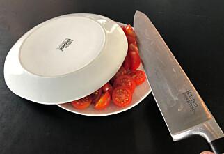 Genial måte å dele tomater på