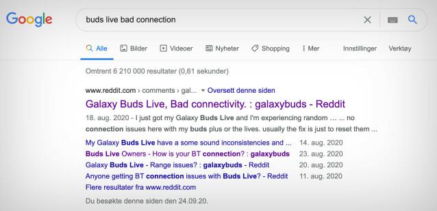 Mange ser ut til å ha problemer med Buds Live-oppkoblingen.