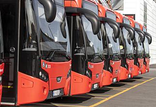 Busstreiken: Hele landet rammet
