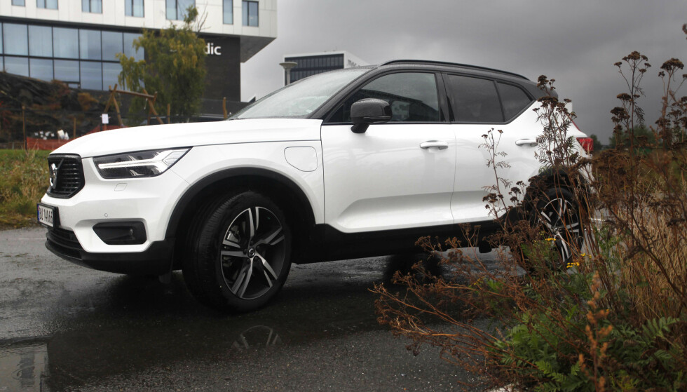 «GAMLIS-UNGDOM»? Med SUV-en XC40 forsøker Volvo å tiltrekke seg urbane småbarnsfamilier, men norsk statistikk viser at gjennomsnittskunden til denne bilen er 61 år. Foto: Øystein B. Fossum