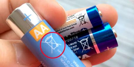 Advarer mot populære batteri