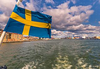 Flere svenske regioner blir røde