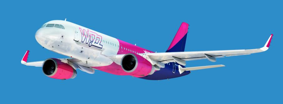 LAVPRISFLY: Wizz air har flydd til flere norske flyplasser tidligere - men da mest til Polen og andre land øst i Europa. Foto: Avinor
