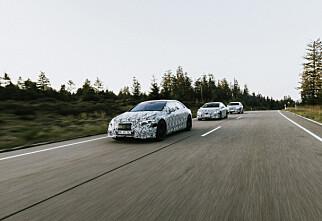 Seks nye premium-elbiler på vei