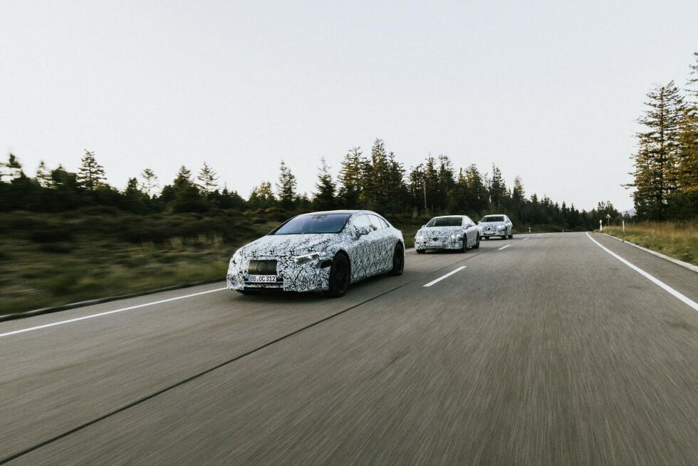 Mercedes-Benz EQ Erprobung   Mercedes-Benz EQ testing