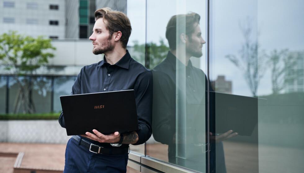 FRIHET: Selv om kontoret for tiden kanskje har samme adresse som hjemmet, sørger MSIs nye SUMMIT-serie av laptoper for at utstyret fungerer optimalt uansett hvor du er.