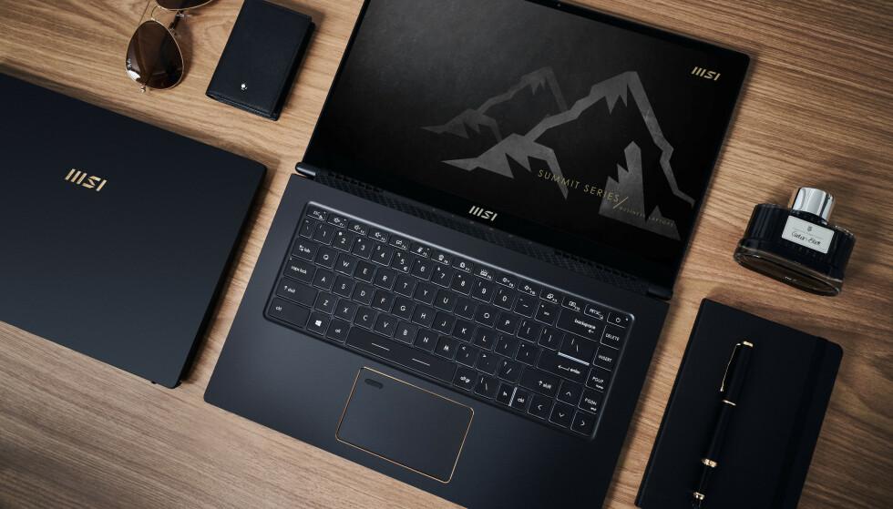 HØYKVALITET: Ikke bare er de elegante, de nye laptopene MSI har laget for bedrifter. De er utstyrt med alt bedriften trenger. Og vel så det.