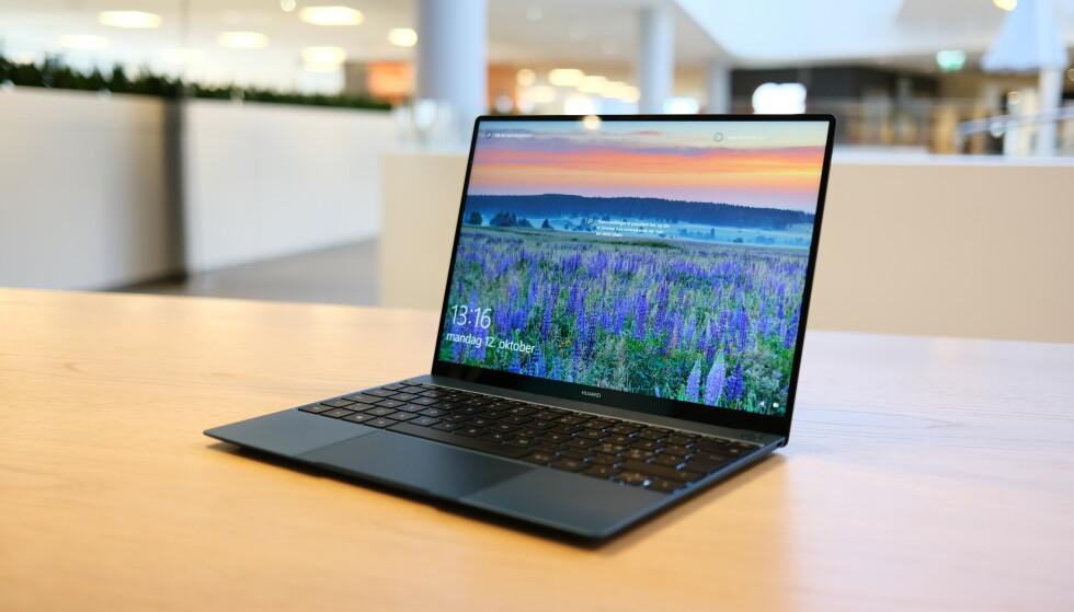 <strong>MATEBOOK X:</strong> Huawei imponerer oss stadig med sine Matebooker. Foto: Martin Kynningsrud Størbu