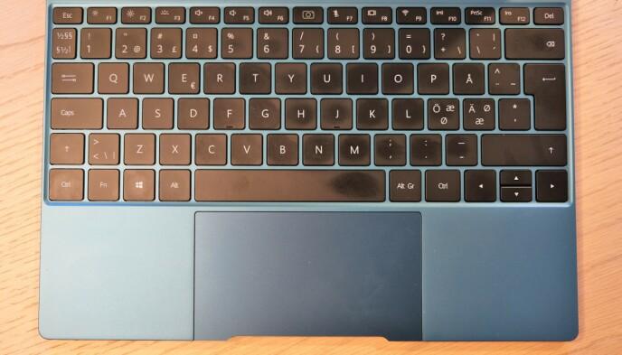 FREE TOUCH: Styreflaten er kanskje den beste i Windows-verden. Foto: Martin Kynningsrud Størbu